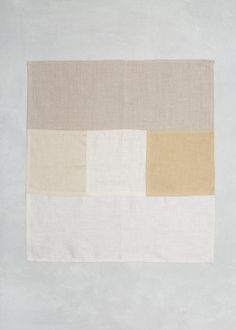 Fog Linen Linen Patchwork Napkin |