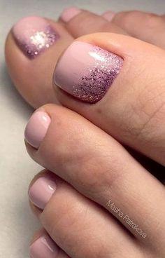Toenails Toe Nail Colors Why Choosing Landau Un Pretty Toe Nails, Cute Toe Nails, Cute Acrylic Nails, Gel Toe Nails, Feet Nails, Toe Nail Art, Chic Nails, Stylish Nails, Picasso Nails
