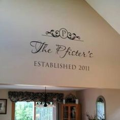 I could do this with my cricut above stairway.