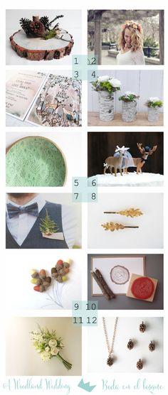 53 Countesses: Bodas en el Bosque ♥ Woodland Weddings