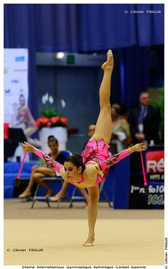 Carolina Set VELEZ RAMIREZ (COL) at Corbeil-Essonnes International Rhythmic Gymnastics Tournament