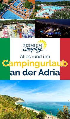 Premium Camping an der Adria: Traumstrände und Kulturhighlights Camping Adria, Reisen In Europa, Glamping, Caravan, Camper, Travel Destinations, Cool Designs, Tricks, Gadgets