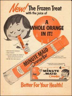 Minute Maid Orange Bar.