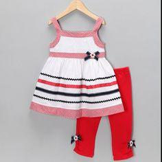 Good thing I don't have a girl...my wallet would be in big trouble! Seersucker girls outfit, Zulily http://www.zulily.com/invite/rrathmill552/p/red-white-seersucker-tunic-leggings-infant-toddler-girls-13810-1219604.html