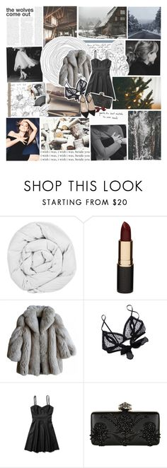 """CHRISTMAS LIGHTS GLISTEN"" by etoilesdanse ❤ liked on Polyvore featuring The Fine Bedding Company, Mimco, Only Hearts, Abercrombie & Fitch, Alexander McQueen, Christian Louboutin, vintage and gottatagrandomn3ss"