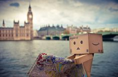 Singapore based photographer Anton Tang seems to have a terrific passion for the Danbo (cardboard box toy robot). Danbo, Miss Piggy, London Photography, Toys Photography, Box Robot, Amazon Box, London Tours, London Art, Cute Box