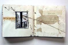 * Juanan Requena Art Journal Pages, Art Journal Fondos, Art Journal Backgrounds, Photo Journal, Art Journals, Beginner Art, Artist Sketchbook, Art Journal Techniques, Visual Diary