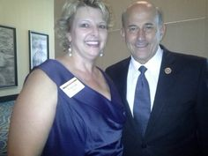 Frances Arthur and Rep. Louis Gohmert, R-TX