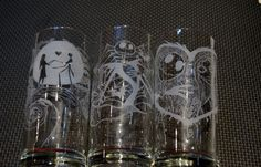 Nightmare Before Christmas glasses https://www.etsy.com/listing/192560886/nightmare-before-christmas-glasses
