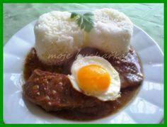 Druh receptu: Jedlá s mäsom - Page 23 of 56 - Mňamky-Recepty. Stew, Eggs, Cooking Recipes, Breakfast, Food, Czech Republic, Hungary, Poland, Germany