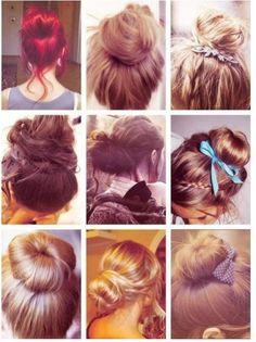 [머리 예쁘게 묶는법]긴머리 예쁘게 묶는법/당고머리 묶는법/똥머리/올림머리 예쁘게 묶는방법 짧은머리든 ...