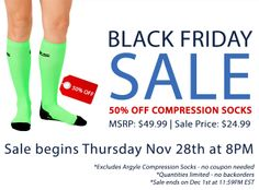 Compression Socks…on sale!
