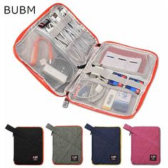 Cheap usb cctv, Buy Quality usb lunch bag directly from China usb feet Suppliers: 2017 Newest Brand BUBM Case For ipad Air For ipad mini Digital Accessories Storage Bag For Tablet Free Drop Shipping Ipad Mini, Dieter Rams, Usb, Nordstrom, Cable Organizer, Travel Accessories, Electronics Accessories, Bag Storage, Cable Storage