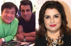 Jackie Chan and Sonu Sood will dance to Farah Khan's tunes : MagnaMags