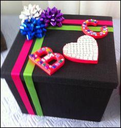 Diy wedding box #diy #letters