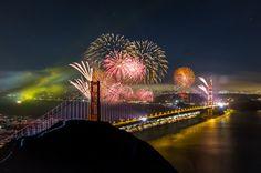 Golden Gate Bridge 75th Anniversary (by tobyharriman)
