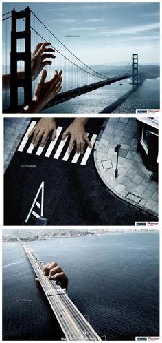 awesome 给力创意广告:这句话说得真好~let t...@Medebo活采集到广告(175图)_花瓣平面设计
