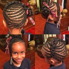 Hairstyles For 7 Year Olds Fascinating 7 Year Old With Beads And Braids Sharedkatia  Pinterest  Hair