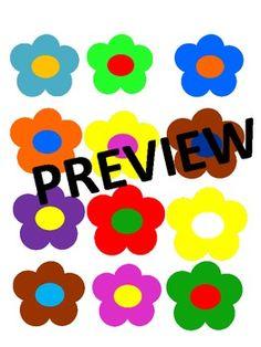 Free Flower Power Clip Art #spring