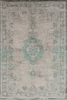 Louis De Poortere Fading World Rug in Oyster Green. Pure wool rug in green. Large Rugs and small rugs available. Modern rugs perfect for use in living room, bedroom and as kitchen rugs for a glamorous feel. All with free UK Delivery. Large Rugs, Small Rugs, Carpet Manufacturers, Patchwork Rugs, Modern Rugs, Accent Colors, Oysters, Vibrant Colors, Bohemian Rug