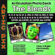 Artic Pix - The Blends. Initial and FINAL S-blends, R blends, S-clusters, L-blends. Clear bright photos.
