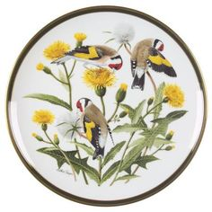 Franklin Mint Songbirds of the World: European Goldfinch - Artist: Arthur Singer