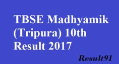 Tripura Board 10th 2017,TBSE Time-Table 2017,Topper List 2017 TBSE : The Tripura Board of Secondary Education which is also called TBSE declared the 10th class (Madhyamik) examination results in 2017. The number of students declared successful in the previous year is 55.37%.   #tbse #tbse 10th results #tbse results #time table tbse #toper list of tbse