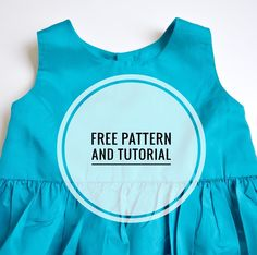 SIMPLE DRESS TUTORIAL AND DOWNLOAD.
