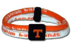 NCAA Titanium Band - Tennessee Volunteers