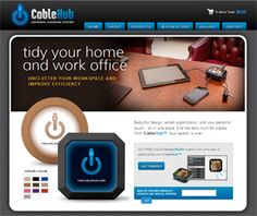 Beautiful design, smart organization, and your personal touch… all in one place. End the daily hunt for cables. With CableHub™, Your search is over.  http://www.cablehub.com