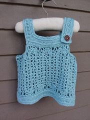 Belgian Baby Tank pattern by Robyn Chachula