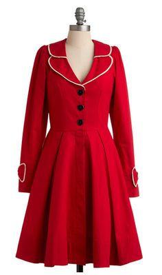 There are no words how perfect this coat by Modcloth is!!!