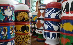 <p>Além da eficiência na filtragem da água, cerâmica pode se tornar objeto de decoração</p>