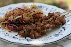 Thit Heo Nuong Xien Vietnamese Grilled Pork Skewers