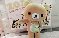 This is one of the cutest things I've ever seen. Can I just go buy a really big Rilakkuma outfit?