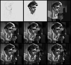 JAMES DEAN: CARICATURAS