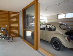 Loft House, House Rooms, Morden House, Japanese House, Japanese School, Garage Design, Home Room Design, Loft Spaces, Ideal Home