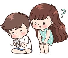 This love for you, send your love to your couple. It's so cute >. Love Cartoon Couple, Cute Couple Comics, Cute Love Couple, Cute Love Stories, Cute Love Gif, Cute Love Pictures, Cute Bear Drawings, Cute Couple Drawings, Cute Bunny Cartoon