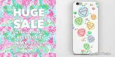 Until 7.59pm NZST (11:59 pm PT)  tonight:  Sale on all tech, apparel and accessories in my #Society6 Store!   Details: * $8 Off Phone Cases and Laptop Sleeves * 25% Off Stickers, Skins, Backpacks, Totes, Pouches, Duffle Bags, Mugs, Travel Mugs, Metal Travel Mugs, Notebooks and Stationery Cards *20% Of All Apparel  Free Shipping On These Sale Items!