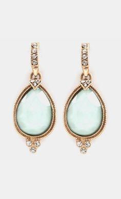 Blake Earrings in Aspen Mint