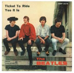 Ticket To Ride-Yes It Is single sleeve - Italy, 1965