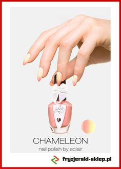New 01 Chameleon Nail Polish http://fryzjerski-sklep.pl/lakier-do-paznokci-new-01-chameleon-nail-polish-by-eclair-p-388.html