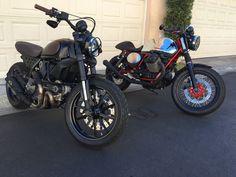 My Tracker Bikes are Done! - Ducati Scrambler Forum