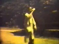 Rare video of  Prof. Cheng Man Ching -  Tai Chi form 37