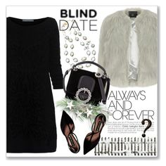 """What to Wear: Blind Date"" by andrejae ❤ liked on Polyvore featuring Alberta Ferretti, Dorothy Perkins, Sophia & Chloe, Marc by Marc Jacobs, Steve Madden and blinddate"