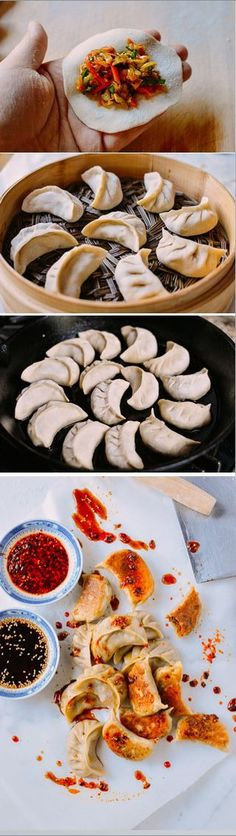 Vegetable Dumplings Recipe, steamed or pan-fried, these are so good!