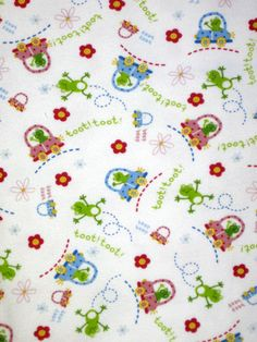 Custom Made Baby Items, Frog, Car, Toot Toot, Jersey Knit, Tshirt Knit Fabric, Boppy Cover, Crib Or Bassinet Sheet, Changing Pad Cover