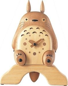 Fancy - My Neighbor Totoro handicraft wall clock rhythm clock | Japan Shopping at FlutterScape