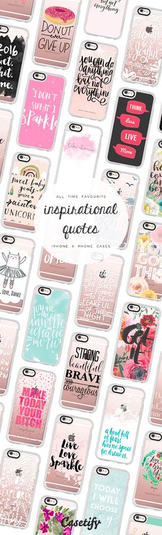 All time favourite inspirational quotes iPhone 6 protective phone case designs | Click through to see more iPhone phone case ideas >>> https://www.casetify.com/de_DE/collections/inspirational_quotes# #quote | @casetify