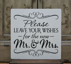 "Painted Wooden Wedding Signs | Wedding Sign Painted Wooden Shabby Chic Wedding Seating Sign, ""Please ..."
